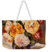 Bouquet Of Roses Weekender Tote Bag