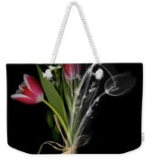 Bouquet X-ray Weekender Tote Bag