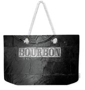 Bourbon In Black And White Weekender Tote Bag