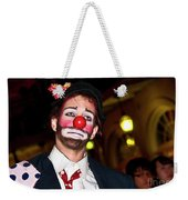 Bourbon Street Clown Mime Weekender Tote Bag