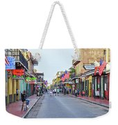 Bourbon Street - New Orleans Louisianna Weekender Tote Bag