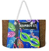 Bourbon Street Original Weekender Tote Bag
