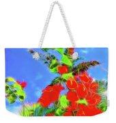 Bougainvillea Glow Weekender Tote Bag