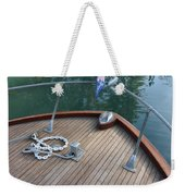 Bow And Chain  Weekender Tote Bag
