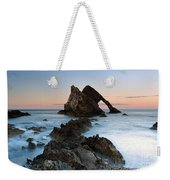 Bow Fiddle Rock At Sunset Weekender Tote Bag