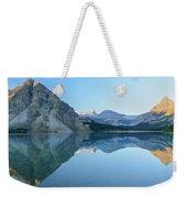 Bow Lake Panorama Weekender Tote Bag