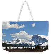 Bow Lake Vista Weekender Tote Bag