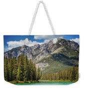 Bow River Banff Alberta Weekender Tote Bag