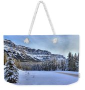 Bow Valley Castle Cliffs Weekender Tote Bag