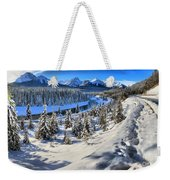 Bow Valley Mountains Weekender Tote Bag
