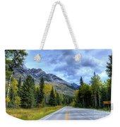 Bow Valley Parkway Banff National Park Alberta Canada Vi Weekender Tote Bag