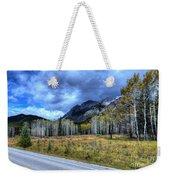 Bow Valley Parkway Banff National Park Alberta Canada Weekender Tote Bag
