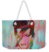 Bowie Reflection Weekender Tote Bag