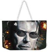 Bowie With Glasses Weekender Tote Bag