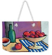 Bowl Of Apples Weekender Tote Bag