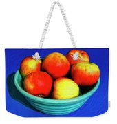 Bowl Of Apples Weekender Tote Bag