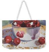 Bowl Of Cherries Weekender Tote Bag