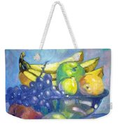 Bowl Of Fresh Fruit Weekender Tote Bag