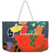 Bowl Of Fruit Weekender Tote Bag