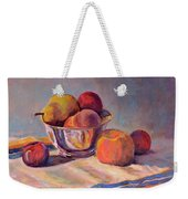 Bowl With Fruit Weekender Tote Bag