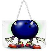 Bowling Weekender Tote Bag