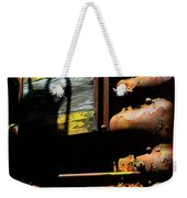 Boxcar Past Its Time Weekender Tote Bag