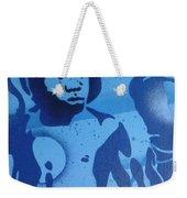 Boxer In Blue Weekender Tote Bag