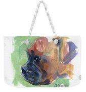 Boxer Pup Weekender Tote Bag