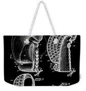 Boxing Glove Patent 1944 Black Weekender Tote Bag