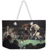Boxing Match Weekender Tote Bag
