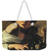 Boy Bitten By A Lizard, 1596 To 97 Weekender Tote Bag
