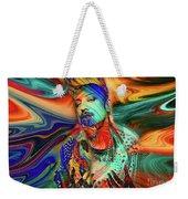 Boy George Digital Art Weekender Tote Bag