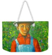 'boy In The Woods' Weekender Tote Bag