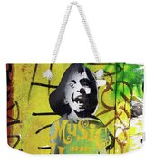Boy In Yellow Weekender Tote Bag