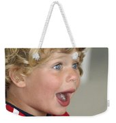 Boy Surprise Weekender Tote Bag