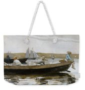 Boys In A Dory, By Winslow Homer, Weekender Tote Bag