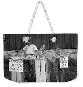 Boys Selling Lemonade, C.1940s Weekender Tote Bag