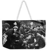Boys Shooting Craps, C1910 Weekender Tote Bag