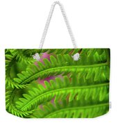 Bracken Fern Weekender Tote Bag