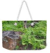 Bracken Fern Meadow Weekender Tote Bag
