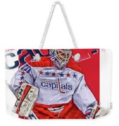Braden Holtby Washington Capitals Oil Art Weekender Tote Bag