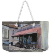 Brady Street - Peter Scortino Bakery Layered Weekender Tote Bag