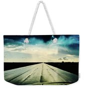 Braeking Through The Storm Waskatena Weekender Tote Bag