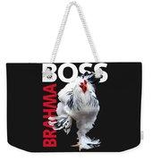 Brahma Boss II T-shirt Print Weekender Tote Bag