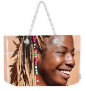 Braided Lady Weekender Tote Bag