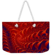Braided Red Weekender Tote Bag