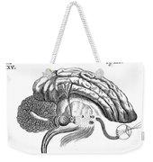 Brain And Eye, Descartes, Illustration Weekender Tote Bag