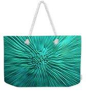 Brain Coral Weekender Tote Bag