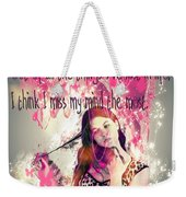 Brainless Teen Bimbo Weekender Tote Bag