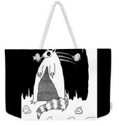 Brains Brewing Noon Raccoon Design By Warwickart Weekender Tote Bag